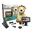 "Infanttech Award Winning Zooby 4.3"" Video and Audio Baby Monitor (Giraffe) - The Baby Monitor for Home, Cars and On the Go"