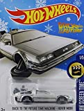 2016 Hot Wheels Holiday Snowflake Exclusive Hw Screen Time 1/5: Back To The Future - Hover Mode