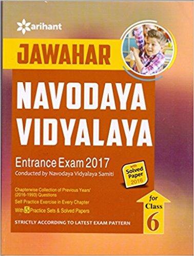 Read Online Jawahar Navodaya Vidyalaya Entrance Exam 2017 For Class VI PDF
