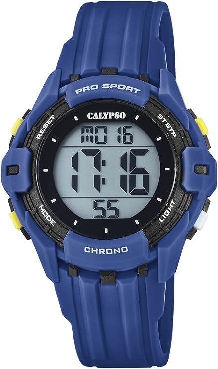 Calypso Reloj Cronógrafo para Niños de Cuarzo con Correa en Silicona K5740/4