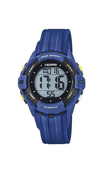 Calypso Reloj Digital para Hombre de Cuarzo con Correa en Plástico K5740/4: Calypso: Amazon.es: Relojes