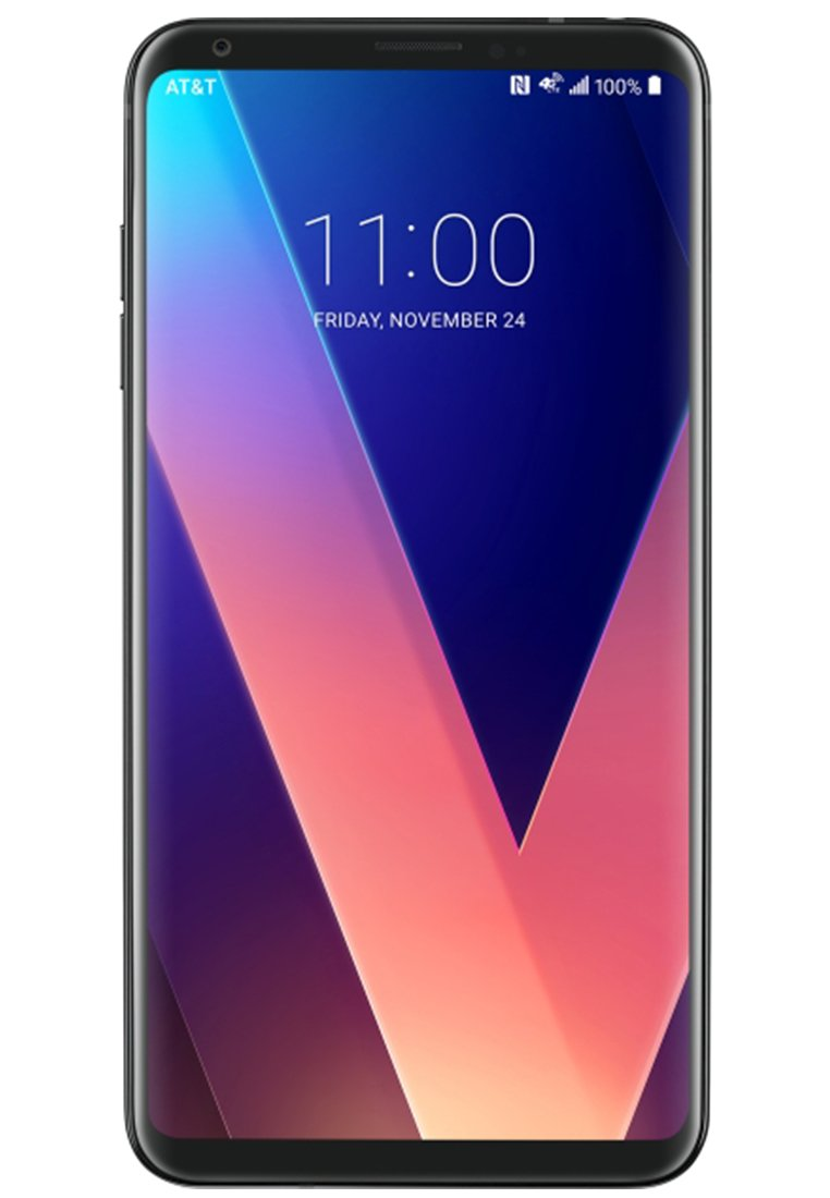 9313493acba Amazon.com: LG V30+ H930DS 128GB Black, Dual Sim, 6.0 inch, 4GB , GSM  Unlocked International Model, No Warranty: Cell Phones & Accessories