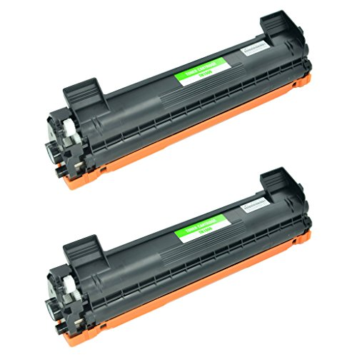 SuperInk 2PK New Compatible With Brother TN1000 Black Toner Cartridge Replacement for Brother TN-1000 HL-1110/1112 MFC-1810/1815 DCP-1510/1512 Series Printers