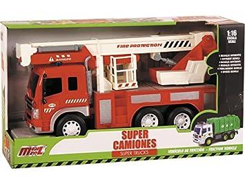 Camion Y Bomberos esJuguetes Juegos 16Amazon 1 2EIHD9