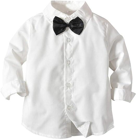 Trajes de Boda para niños Chaleco a Rayas + Camisa + ...