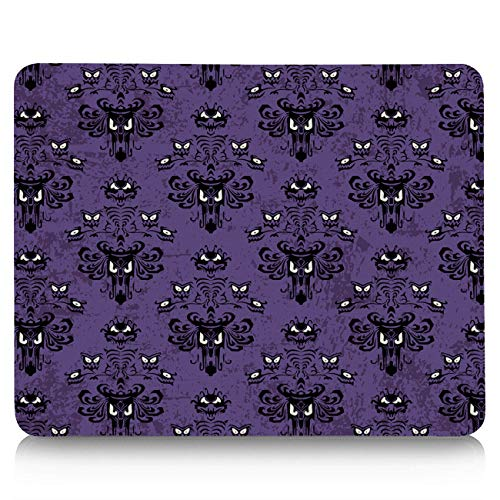 - Gaming Mouse Pad Custom Haunted Mansion - Grim Grinning Ghosts Halloween Decor Mouse Mat 10 x 9 in Ergonomic Gel Mousepad for Office/Computer/Laptop, Non-Slip Rubber Base,