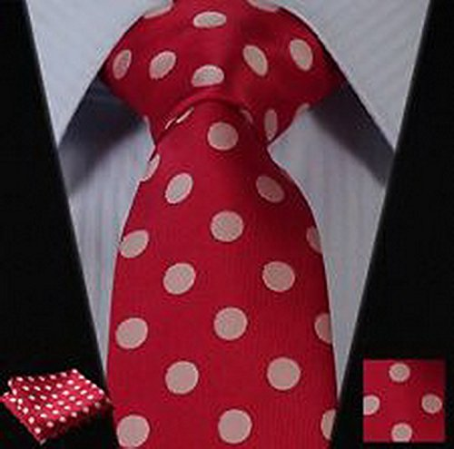 dan-smatree-red-polka-dot-silk-mans-tie-neckties-hanky-handkerchief-set