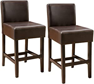 Christopher Knight Home Portman Counterstool, Brown