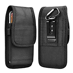 """Why Choose This Takfox Phone Holster for Your Smartphone?★Outer Dimensions: 6.7"""" x 3.8"""" x 1"""";Inner Dimensions: 6.1"""" x 3.1"""" x 0.8""""★Durable nylon oxford fabric is well made with fantastic stitching constructed.★Build in belt loop, fixed metal b..."""