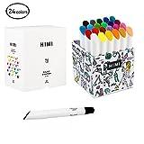 Miya Himi Twistable Gel Crayons 12/24/36 Colors; Washable, Bolder, Pastel, Jumbo for Crayon, Pastel, Watercolor Art Supplies Suitable Kids/Toddlers/Preschooler/Adults