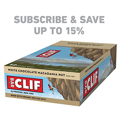 Large Product Image of CLIF BAR - Energy Bar - White Chocolate Macadamia - (2.4 Ounce Protein Bar, 12 Count)