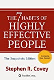 Download The 7 Habits of Highly Effective People:  Powerful Lessons in Personal Change: Snapshots Edition in PDF ePUB Free Online