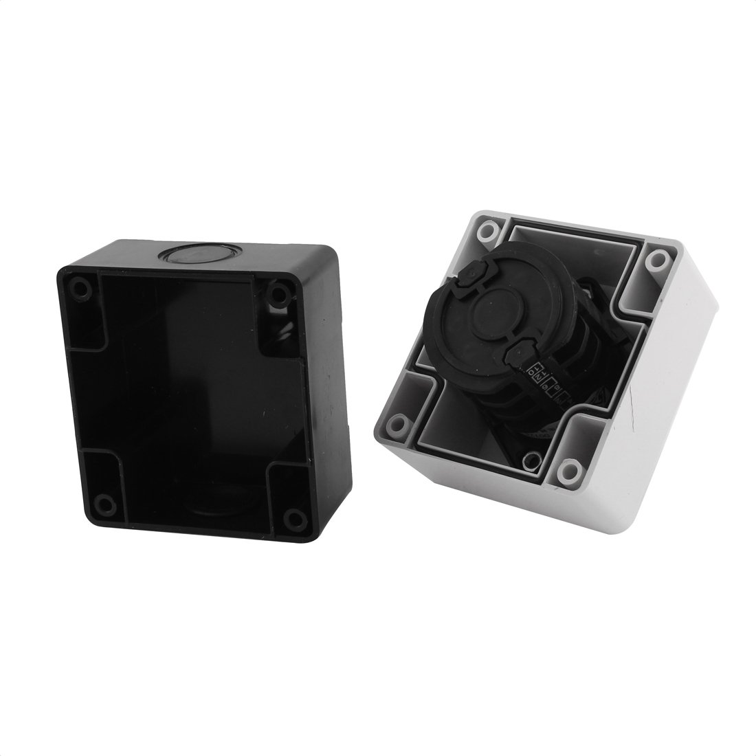 Ui 660V Ith 20A 3 Position Rotary Cam Changeover Switch w Control Box by uxcell (Image #3)