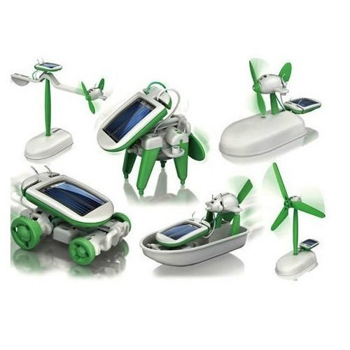 6-in-1 Educational Solar Kit Car Solar Robot Kit