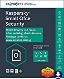 Kaspersky Small Office Security Latest Version- 5 PCs, 1 File Server, 1 Year + 5 Mobile Devices  (Email Delivery in 2 hours- No CD)