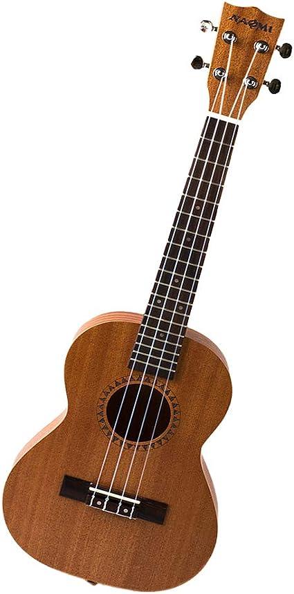 H HILABEE Sapele 18 Trastes Ukulele 4 Cuerdas Guitarra Niños ...