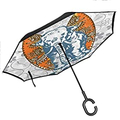 Features       Have you ever encountered such a problem during rainy days?       When you jump into a crowed subway after escaping from a downpour, all your belongings are often soggy because of the wet umbrella. What an awful experien...