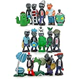 Generic Plants vs Zombies Series PVC Toys,16 Piece