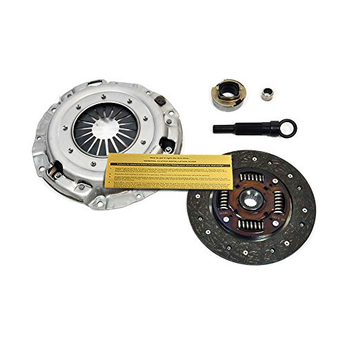 EFT PREMIUM CLUTCH KIT 1991-1996 FORD ESCORT MERCURY TRACER 1.9L SOHC 4CYL - 1991 Escort Mercury Ford Tracer