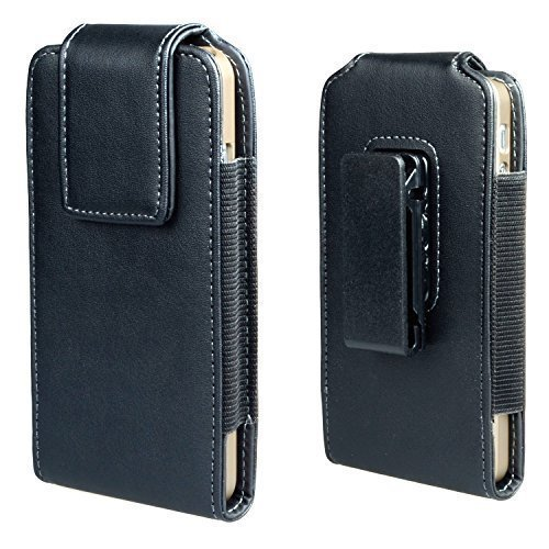 iphone 6s 4.7 Inch Holster Case, Gcepls Premium Leather Pouch Sleeve Carrying Case with Belt Clip Holster for iphone 6s, Samsung Galaxy S7, iPhone 7 (Vertical ()