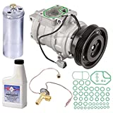 New AC Compressor & Clutch With Complete A/C Repair Kit For Honda Accord V6 - BuyAutoParts 60-80113RK New