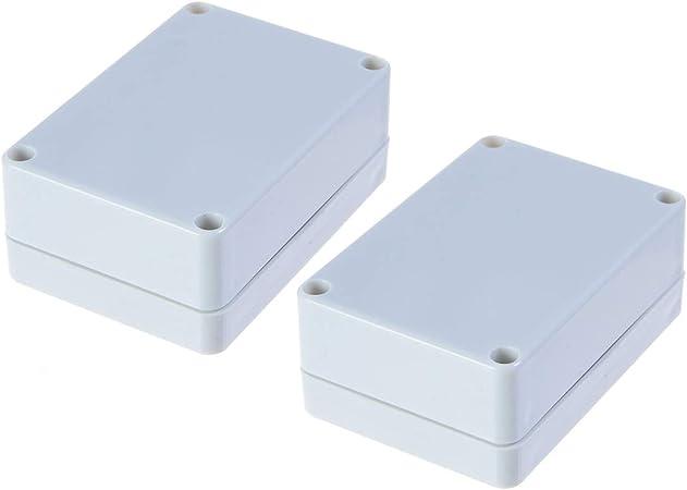 Multi Purpose Waterproof DIY Project Box Enclosure Case IP65 ABS Blue Clear