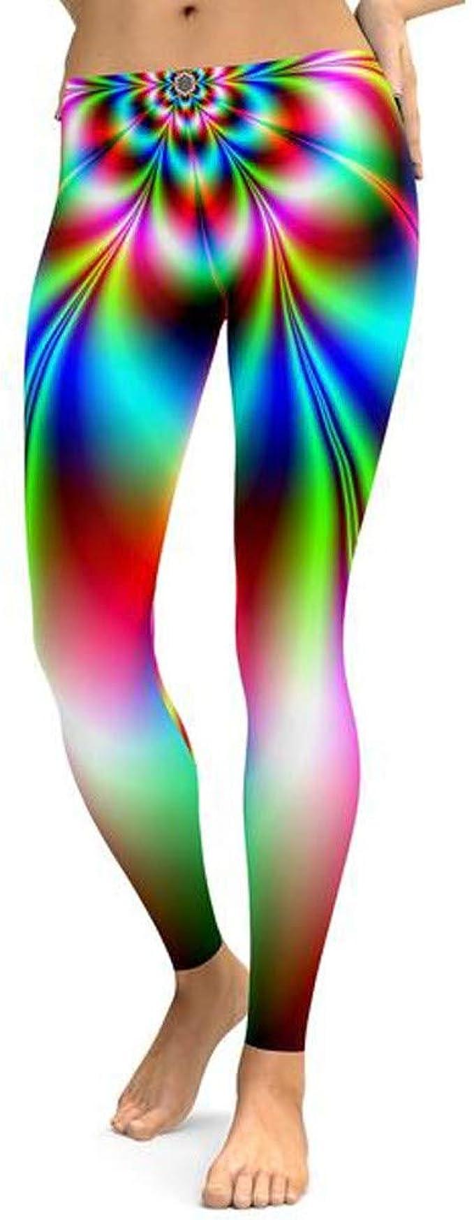 Oyedens Leggings per Il Fitness Pantaloni Yoga da Donna Sportivo da Running Elasticizzato da Palestra Maglia Eleganti Sport Yoga Fitness Palestra Pantaloni Leggins Pantaloni Yoga Abbigliamento Donna