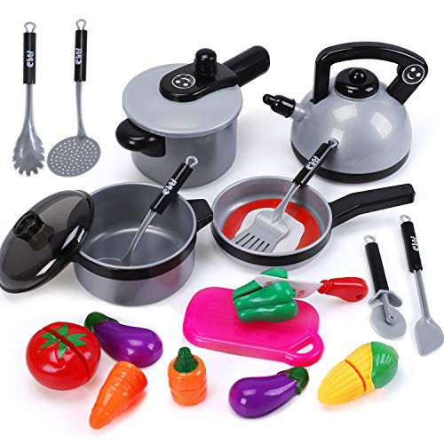 iPlay iLearn Cookware Vegetables Utensils product image