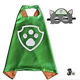 Honey Badger Brands Dress up Comic Cartoon Superhero Costume (Rocky - PAW)
