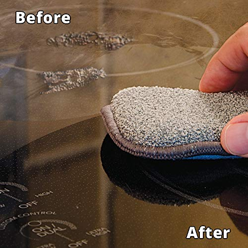 Amazon.com: Rejuvenate Glass and Ceramic Cooktop and Oven Cleaner and Restorer – 10 Ounce Oven Cleaner Includes Free Applicator Pad – Eliminates the Worst ...