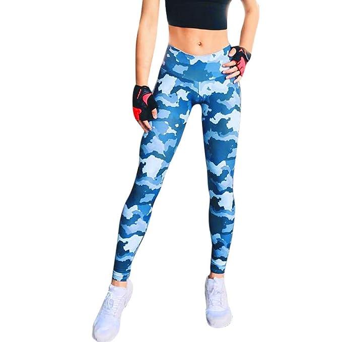 Amazon.com: iLUGU - Pantalones deportivos de cintura alta ...