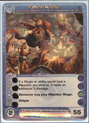 KINNIANNE Chaotic Super Rare Foil Card MAX ENERGY STAT OF 55 Silent Sands