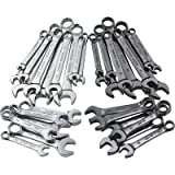 Ironton SAE and Metric Combination Wrenches - 32-Pc. Set