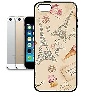 Bumper Phone Case For Apple iPhone 5/5S - Love From Paris Snap-On Back