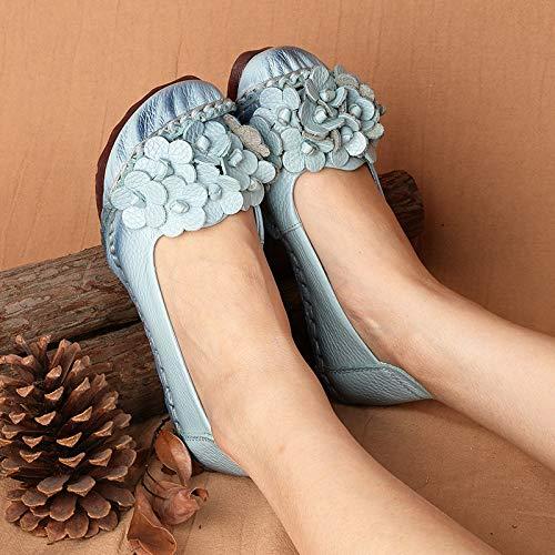 Bleu EU Taille coloré Chaussures 38 Bleu ZHRUI zxHPwYv