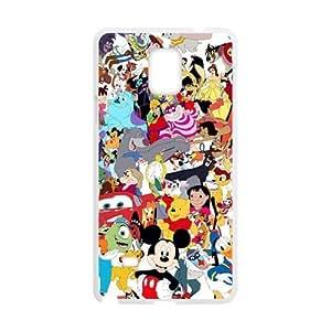Disney Family Pattern Plastic Case For Samsung Galaxy Note4 Kimberly Kurzendoerfer