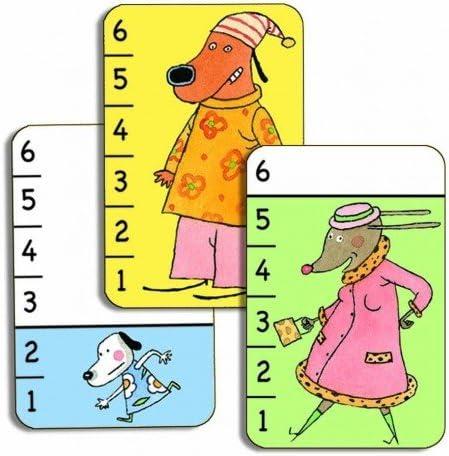 per bambini Gioco di battaglia Carte da gioco Djeco Bata waff-Carte