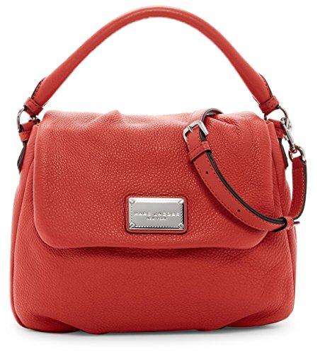 Marc Jacobs Classic Leather Shoulder Bag (Salmon)