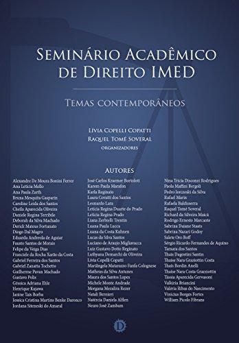 Amazon.com: Seminário Acadêmico de Direito IMED: Temas ...