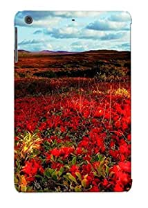 Ipad Mini/mini 2 Case, Premium Protective Case With Awesome Look - Red Flowers In Spring (gift For Christmas)