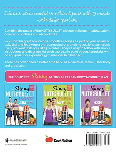 Image of The Skinny NUTRiBULLET Lean Body Abs Workout Plan: Calorie counted