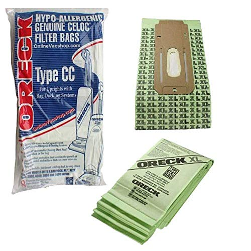 oreck vacuum bag type cc - 2