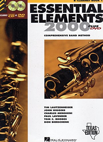 By Author Essential Elements 2000: Comprehensive Band Method: B Flat Clarinet Book 1 (2012)