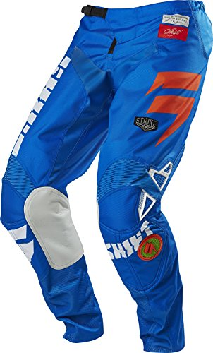 Shift Racing Strike Men's Off-Road Motorcycle Pants - Blue/Green / Size - Shift Pants Strike