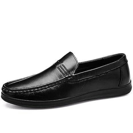 Xiazhi-shoes, Mocasines de conducción para Hombres, Ocasionales, cómodos, artesanales,