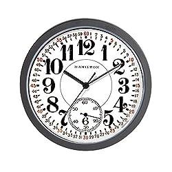 CafePress Hamilton Railroad Pocket Watch Unique Decorative 10 Wall Clock
