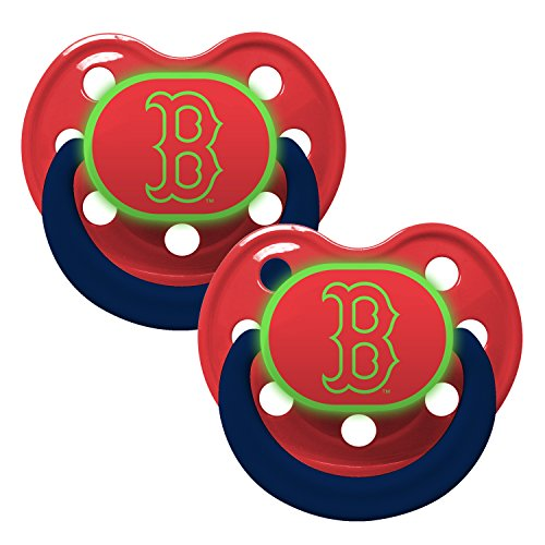 Boston Glow 2 Pack Baby Pacifier
