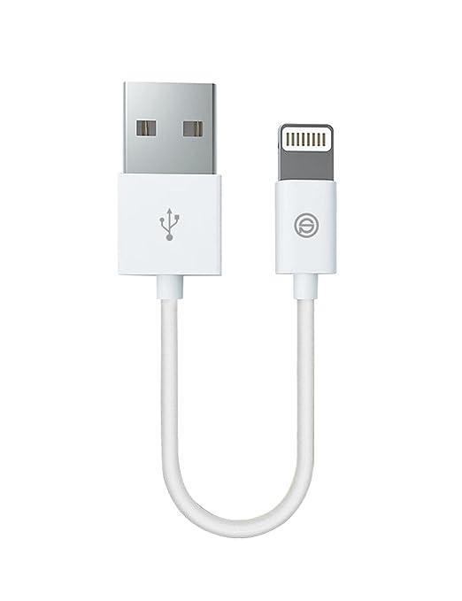 9 opinioni per Cavo Lightning su USB [Certificato Apple MFi] 0.15m OPSO 8 pin per cavo di