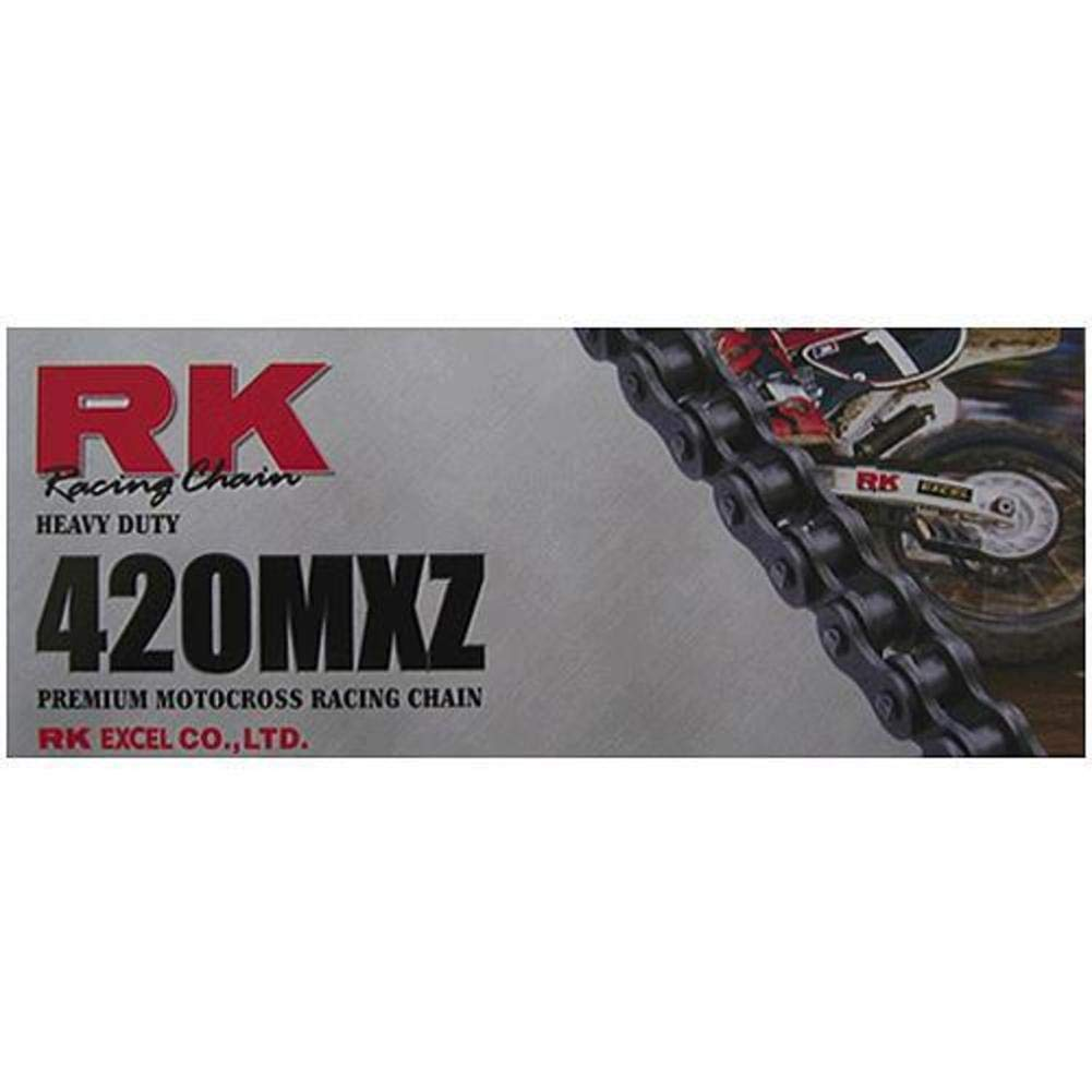 RK 420 MXZ Heavy Duty Chain - 110 Links , Chain Type: 420, Chain Length: 110, Chain Application: All 420MXZ-110 Z18-1933