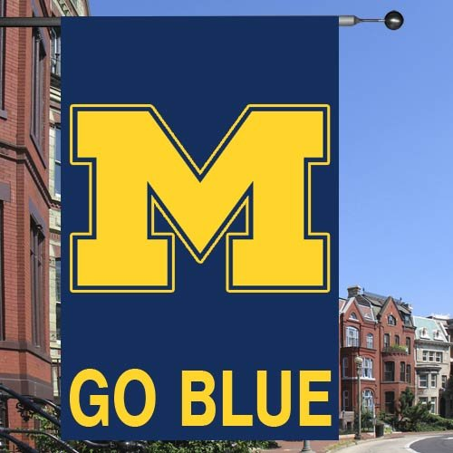 "NCAA Michigan Wolverines 28""x40"" Collegiate Banner Flag"
